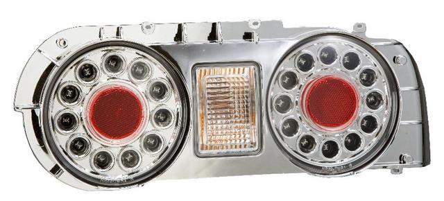 スカイライン LEDスーパーユーロテール(クリア) ¥27170